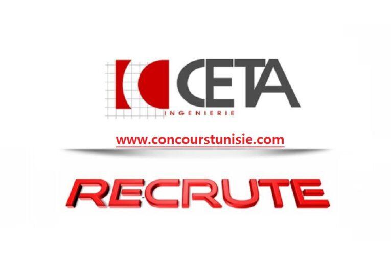 مكتب الدراسات CETA Ingénierie يفتح باب الترشح لإنتداب عديد الإطارات