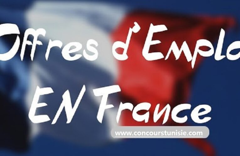 عروض الشغل المتاحة بفرنسا