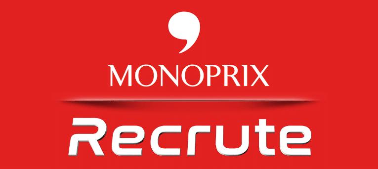 إبتداءً من 700 دينار : مونوبري تنتدب في جميع الإختصاصات مستوى ثانوي فما فوق / Monoprix recrute plusieurs profils
