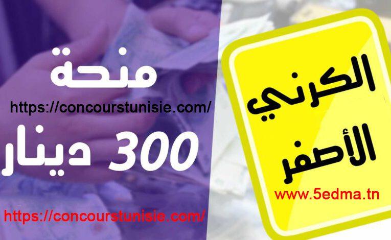 هام جدا : تفاصيل جديدة حول منحة أصحاب بطاقة العلاج الصفراء 300 دينار و منحة 180 دينار للعائلات المعوزة